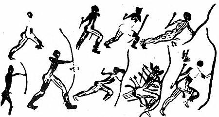 Gli sport preferiti dagli antenati del mondo